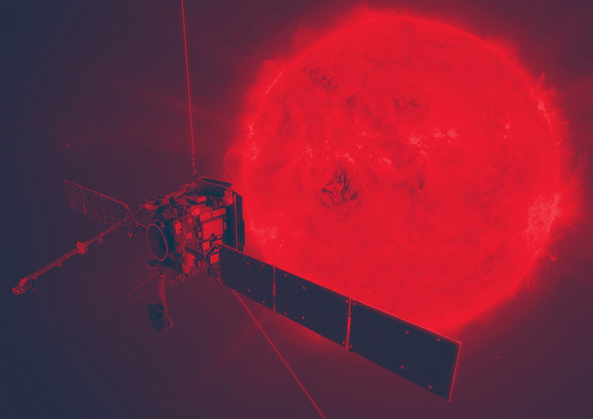 Photo of Satellite that will photograph solar poles has Portuguese tech