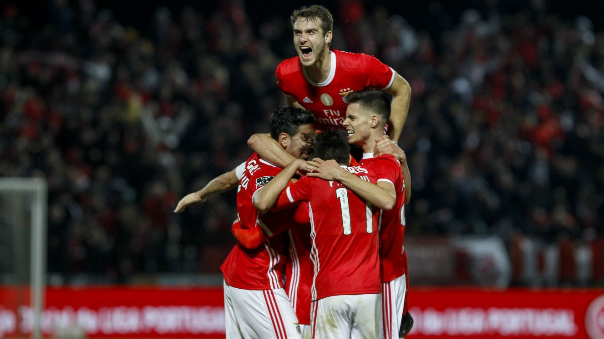 Photo of Benfica beat Paços de Ferreira on the 18th round of the Portuguese First Football League