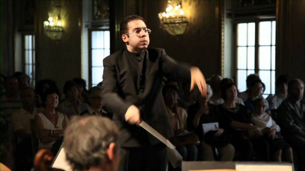 Photo of Conductor José Eduardo Gomes wins European Union Conducting Competition