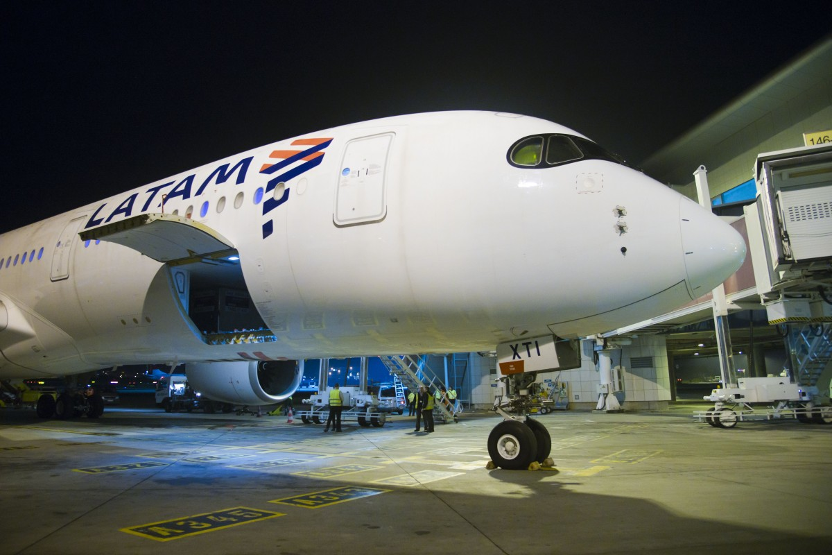 Photo of LATAM Airlines presents its Airbus A350