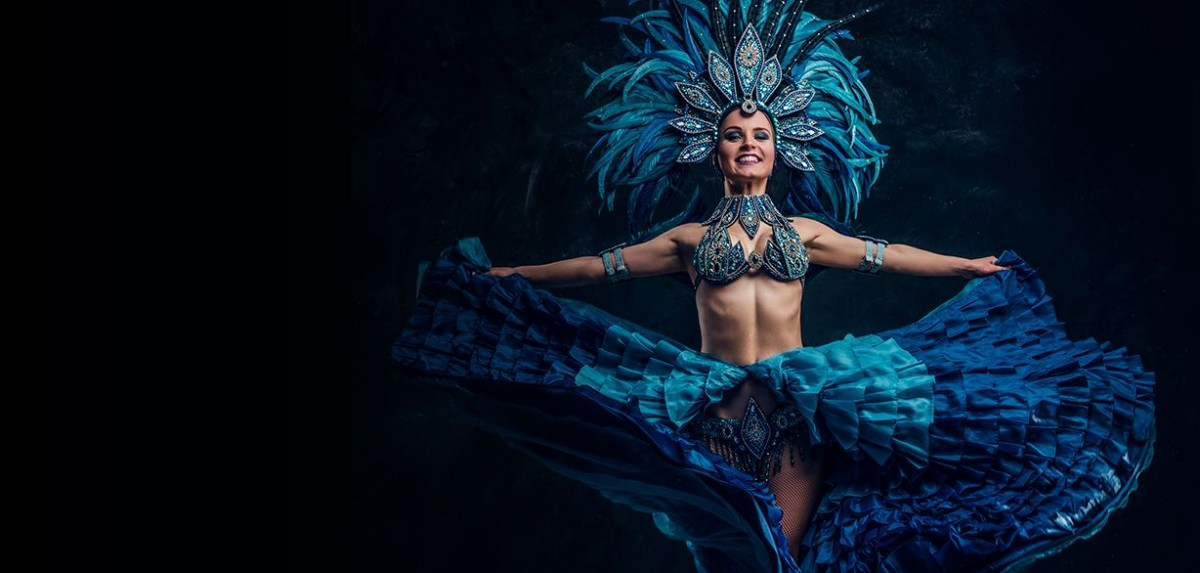 """Photo of Carnival night at Casino Estoril with the best samba by the group """"Sacundeia"""""""