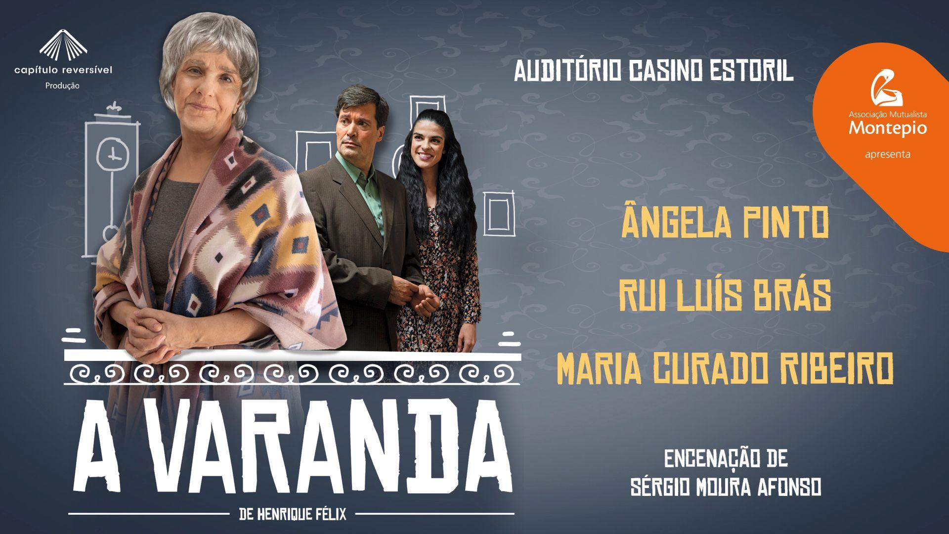 "Photo of ""A Varanda"" in national debut in the Casino Estoril Auditorium"