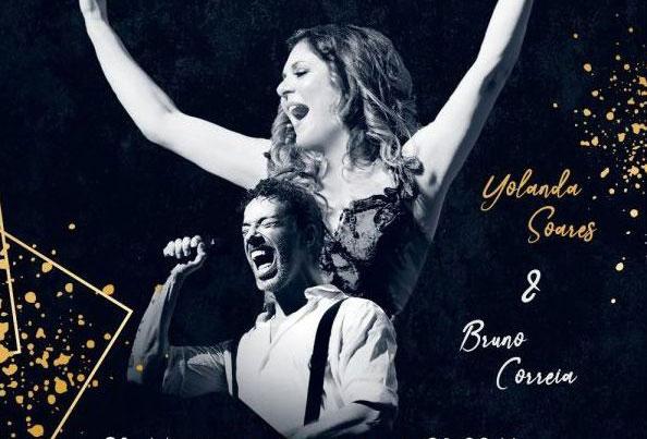 """Photo of """"Duetos Crossover"""" at Casino Estoril with Yolanda Soares and Bruno Correia"""