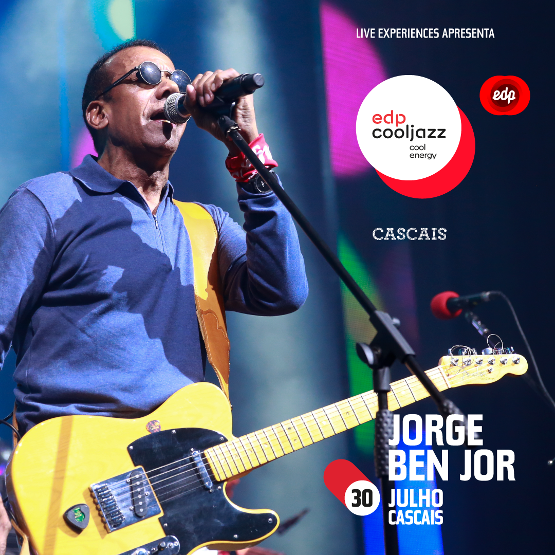 Photo of Jorge Ben Jor confirmed at EDPCOOLJAZZ 2020 in Cascais