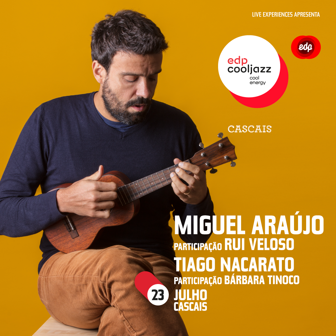 Photo of MigueI Araújo will perform at EDPCOOLJAZZ 2020