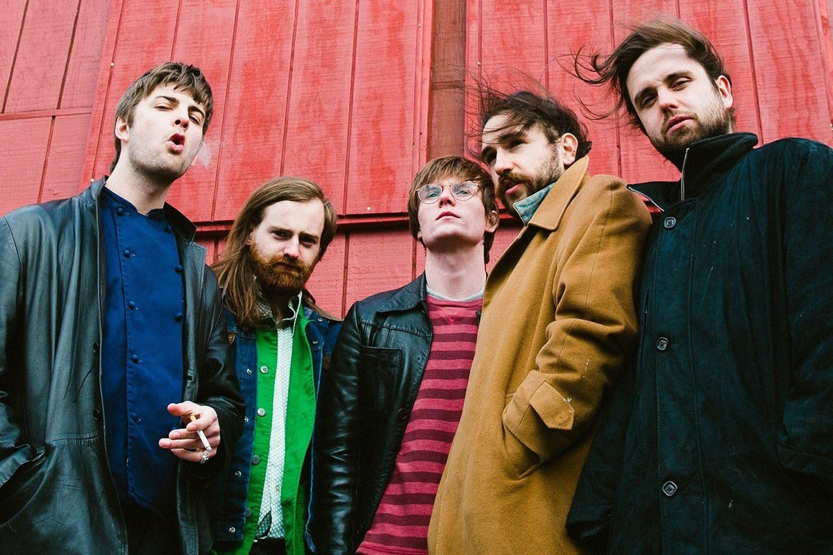 Photo of Fontaines D.C. for the first time at NOS Alive'20
