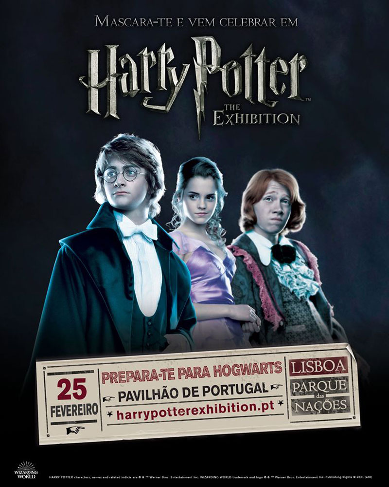 Photo of Lisbon is the last stop to see Harry Potter™: The Exhibition