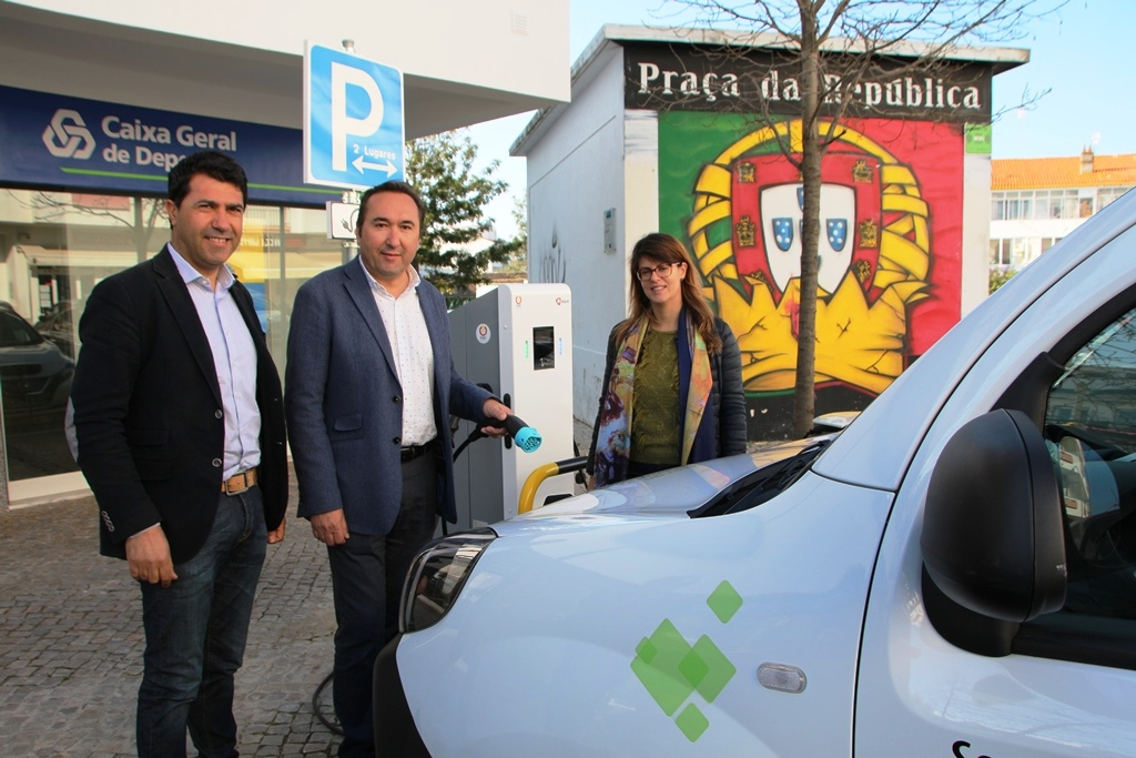 Photo of Electric vehicles already have a charging station in São Brás de Alportel