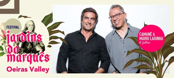 Photo of Camané and Mário Laginha confirmed at the Jardins do Marquês Festival