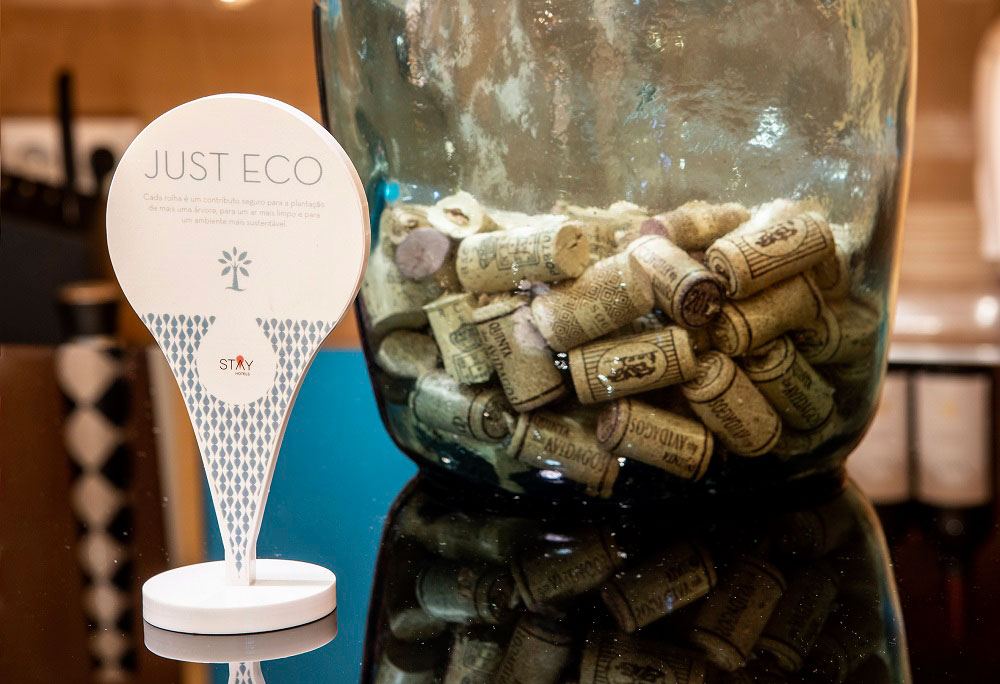 Photo of Stay Hotels promotes the recycling of cork stoppers