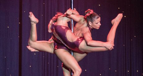 Photo of Pole dance nights at Casino Lisboa with Sara Henriques and Raquel Narciso