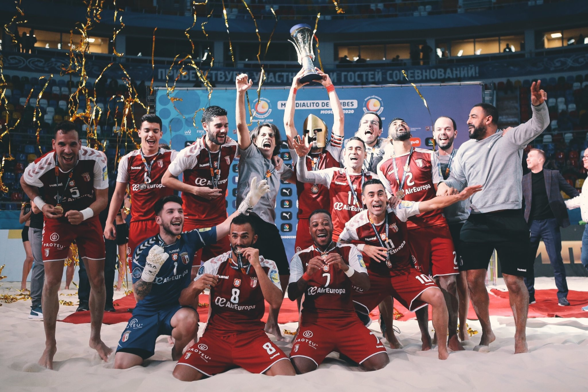 Photo of Sporting Braga wins Beach Soccer World Cup