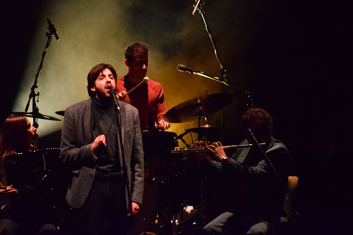 Photo of Salvador Sobral with series of concerts at Teatro Maria de Matos
