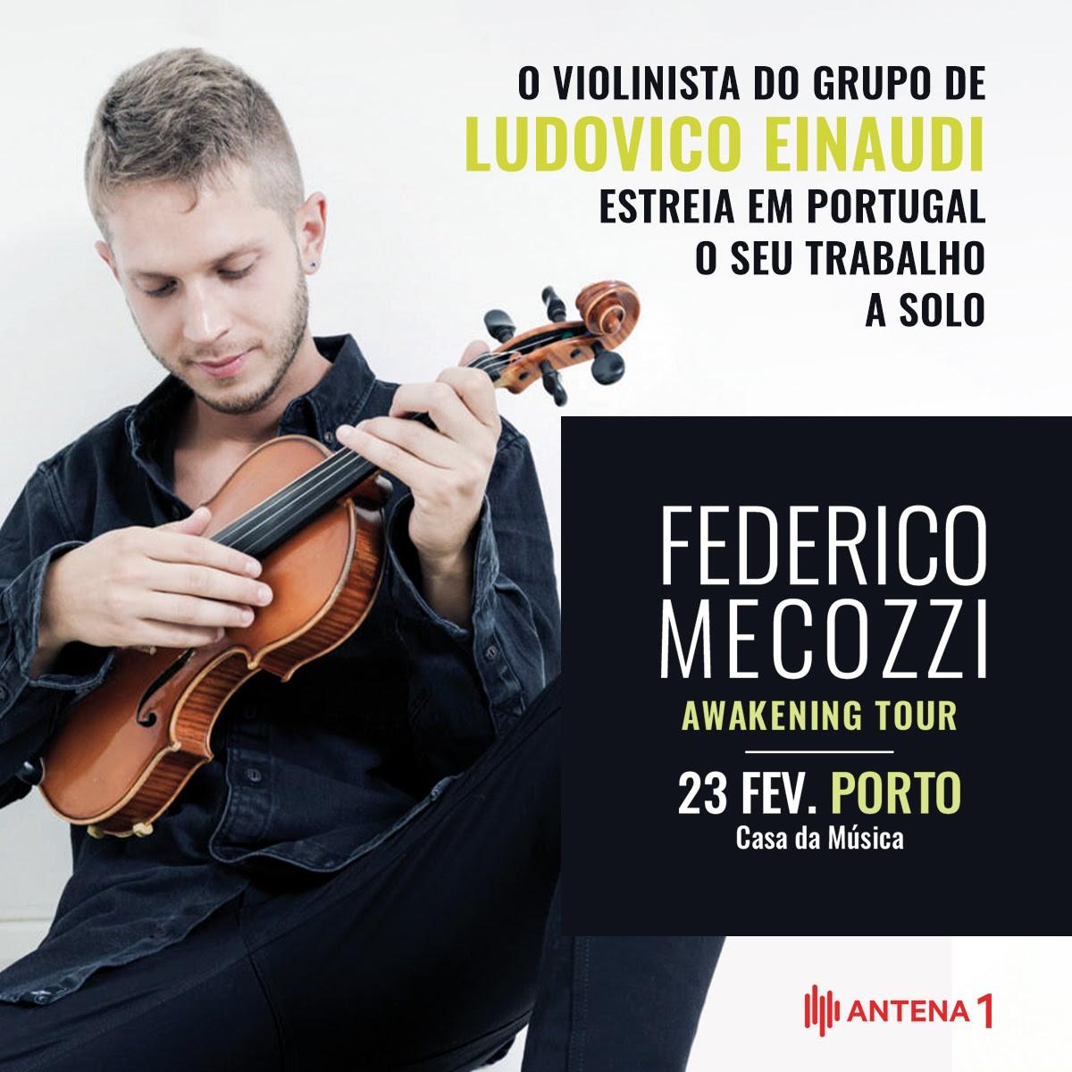 Photo of Violinist Federico Mecozzi debuts solo work in Portugal