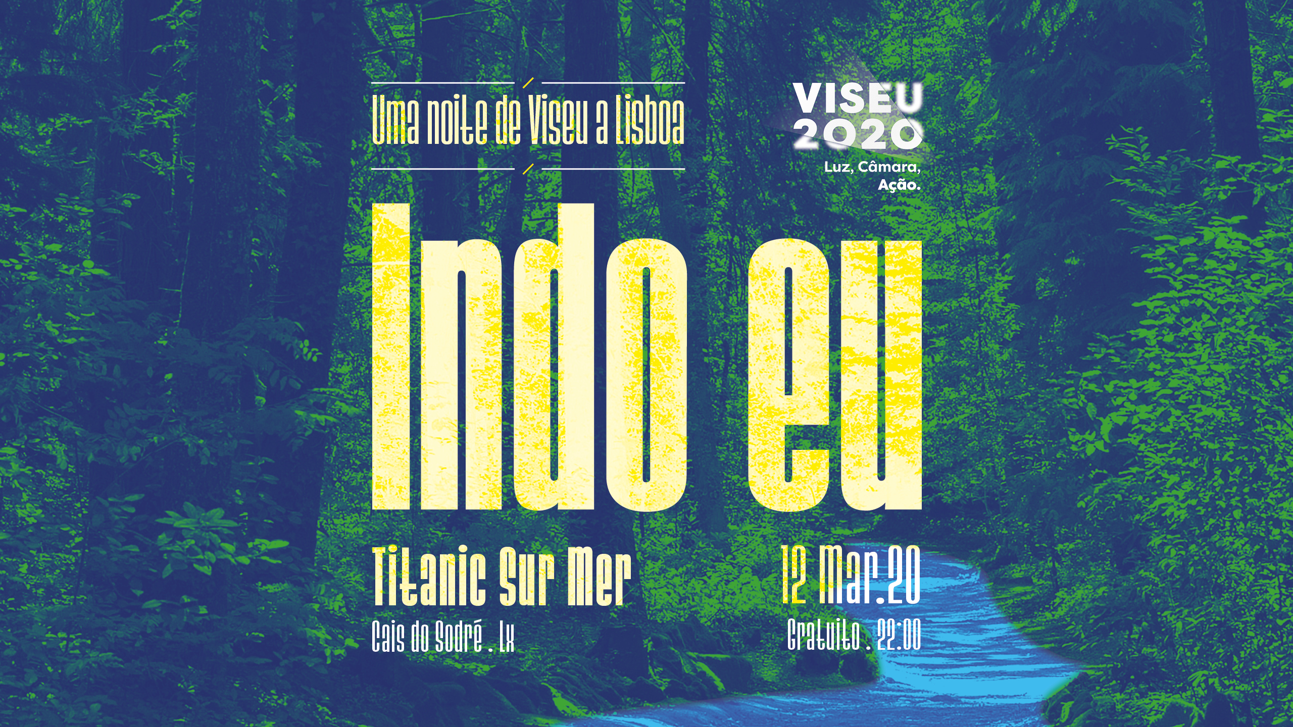 Photo of INDO EU – One night from Viseu to Lisbon, at Titanic Sur Mer