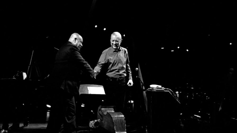 Photo of Dave Holland, Kenny Barron e Jonathan Blake | Casa da Música