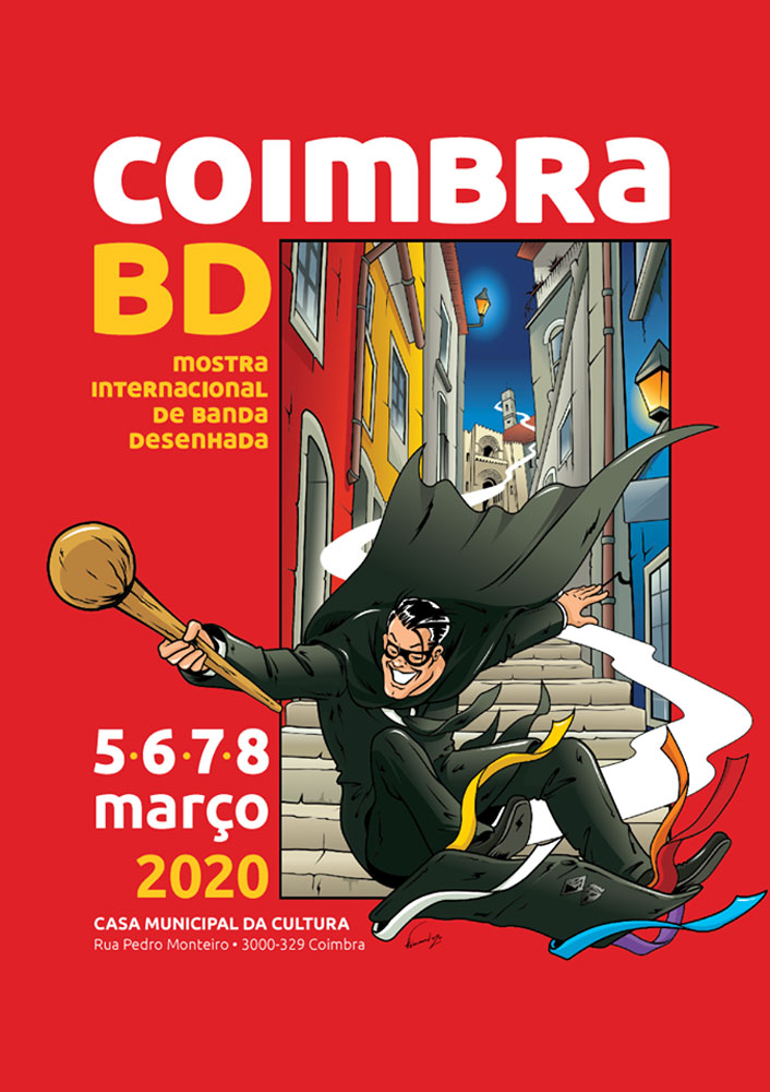 Photo of Coimbra BD from Thursday to Sunday at the Casa da Cultura