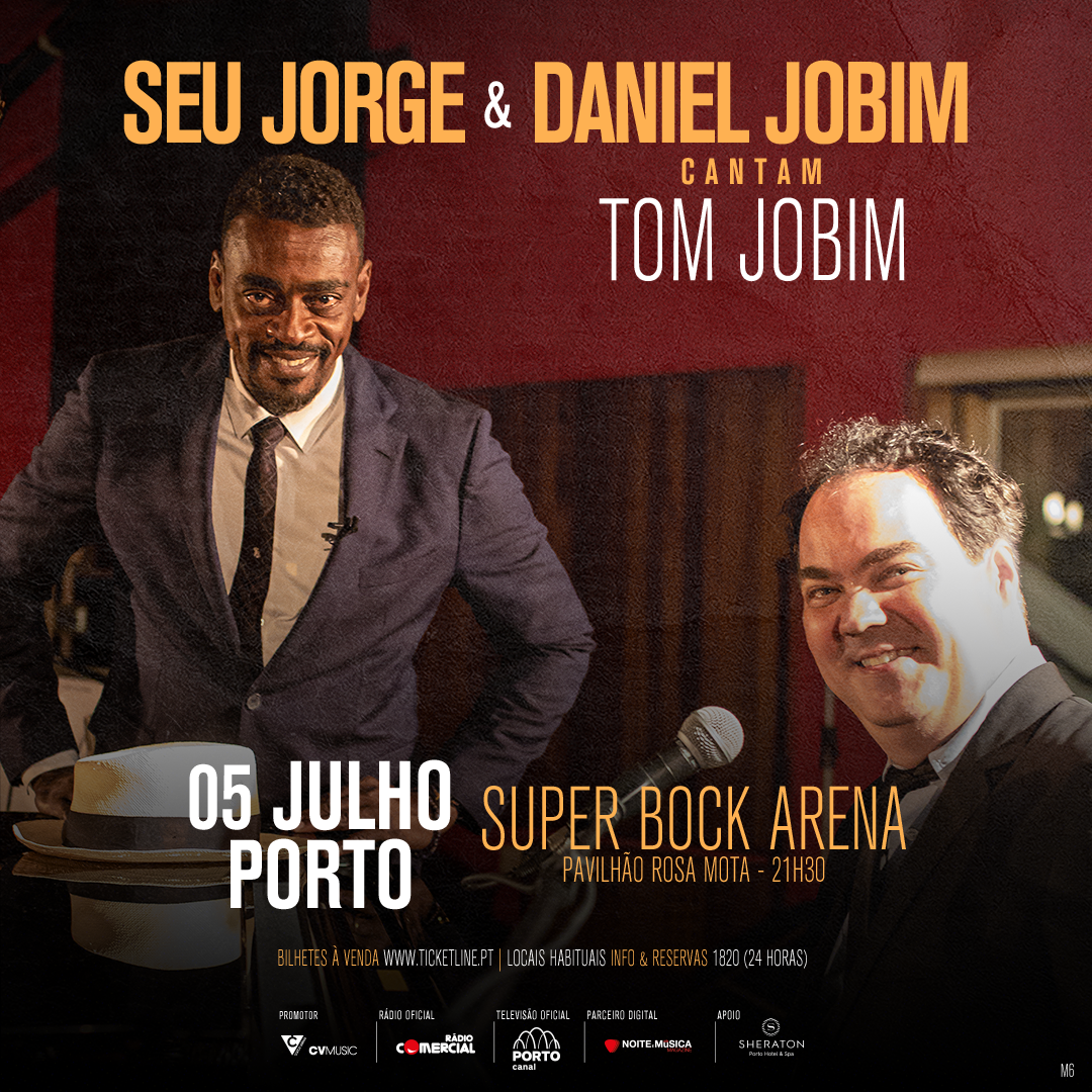Photo of Seu Jorge & Daniel Jobim with a Tribute to Tom Jobim in Porto
