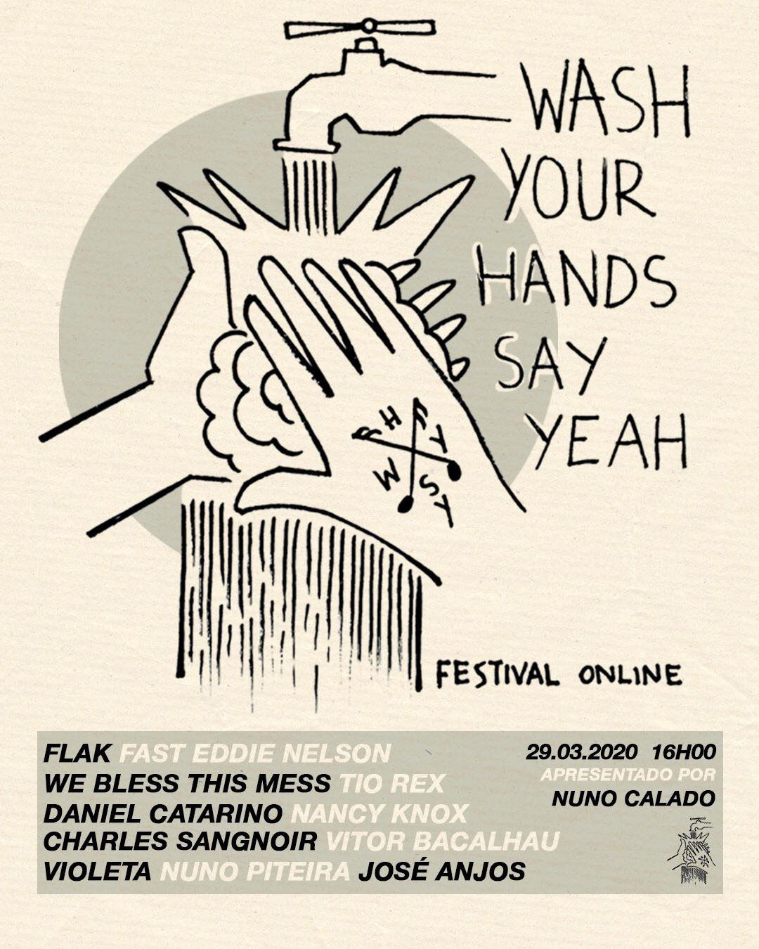 Photo of Festival WASH YOUR HANDS SAY YEAH