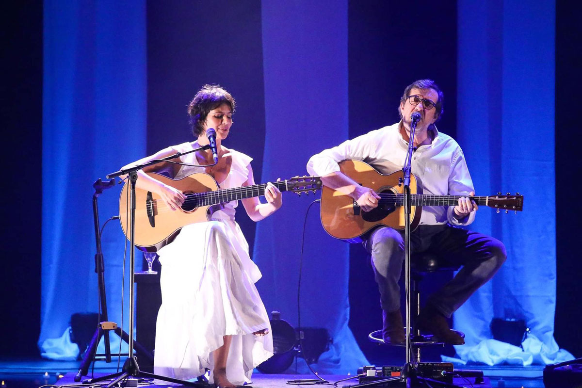 Photo of Valéria Carvalho live at the Tivoli BBVA Theater