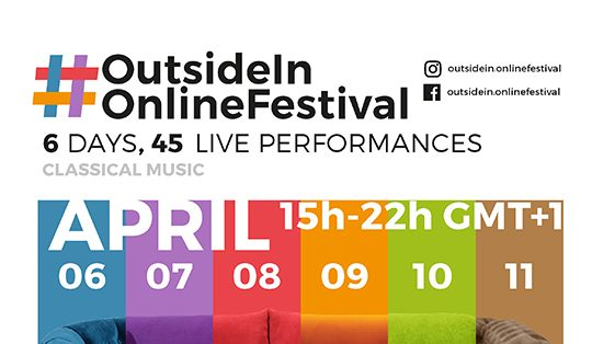 Photo of Outside In Online Festival starts today!