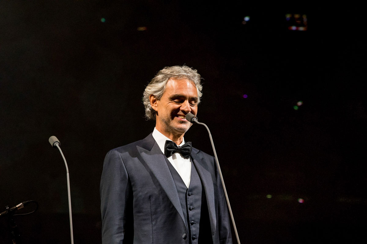 Photo of Andrea Bocelli gives concert on Easter Sunday