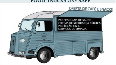 Photo of FOOD TRUCKS ARE SAFE: Free coffee and snacks for healthcare professionals
