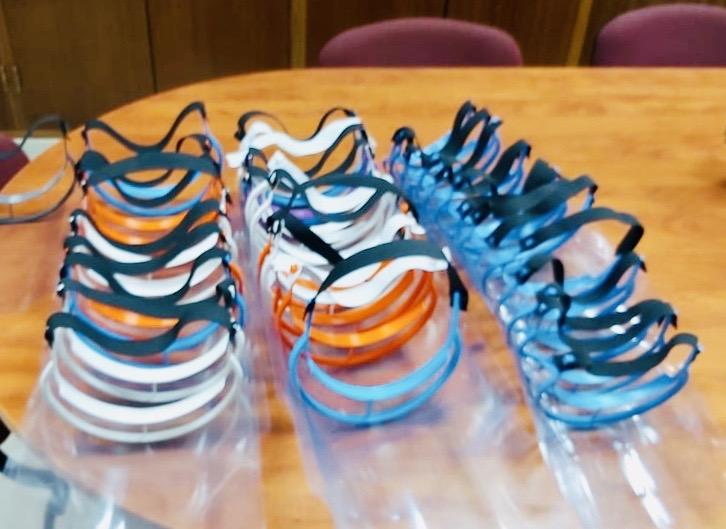 Photo of São Brás de Alportel, has already produced 1,500 units of protective visors