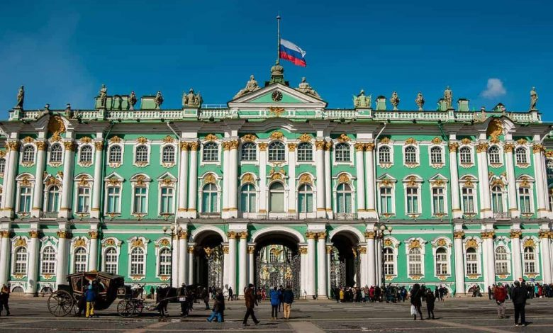 Photo of Hermitage Museum shows collections online
