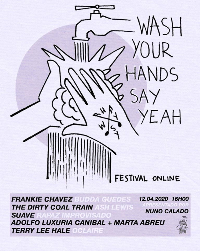 Photo of New WASH YOUR HANDS SAY YEAH next Sunday in live-stream