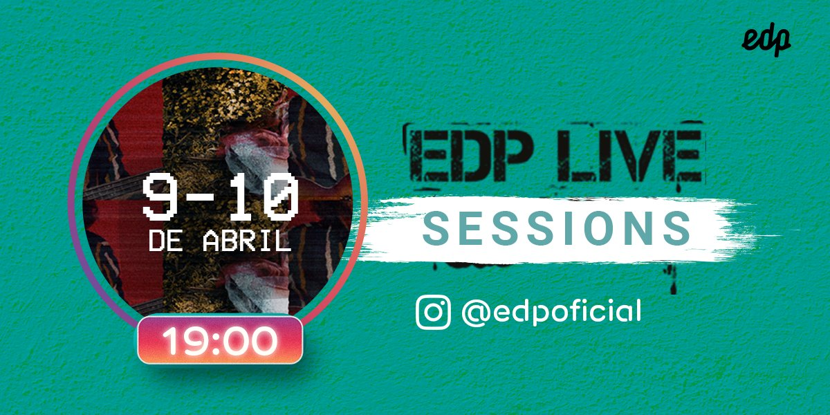 Photo of EDP ​​Live Sessions give us online concerts