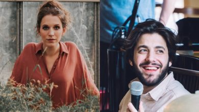 Photo of Luisa Sobral and Salvador Sobral together for a live concert