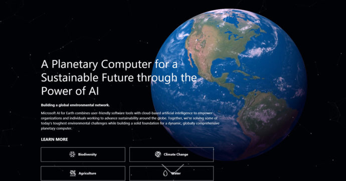 Photo of Microsoft is building a 'Planetary Computer' to protect biodiversity
