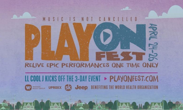 Photo of Play On Fest, Warner Music's online festival, will feature shows by Coldplay, Bruno Mars, Ed Sheeran and more!