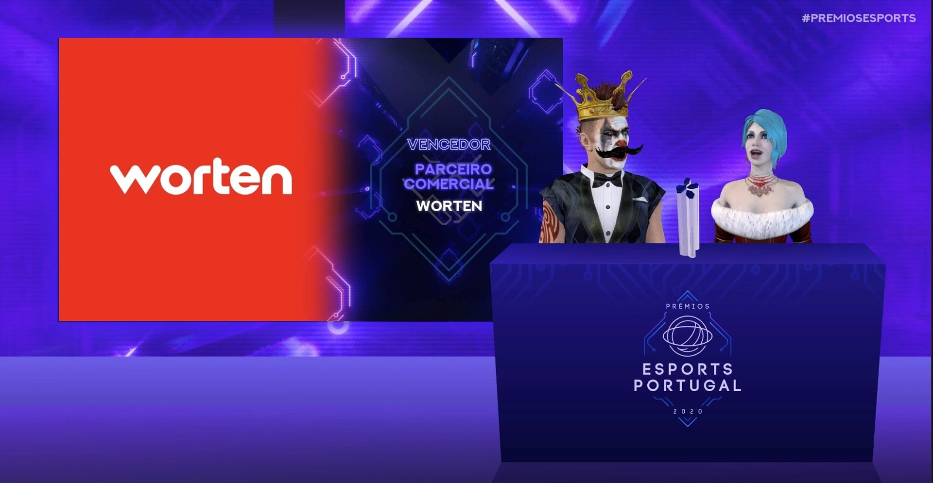 "Photo of Worten wins ""Commercial Partner of the Year"" by Esports Portugal"