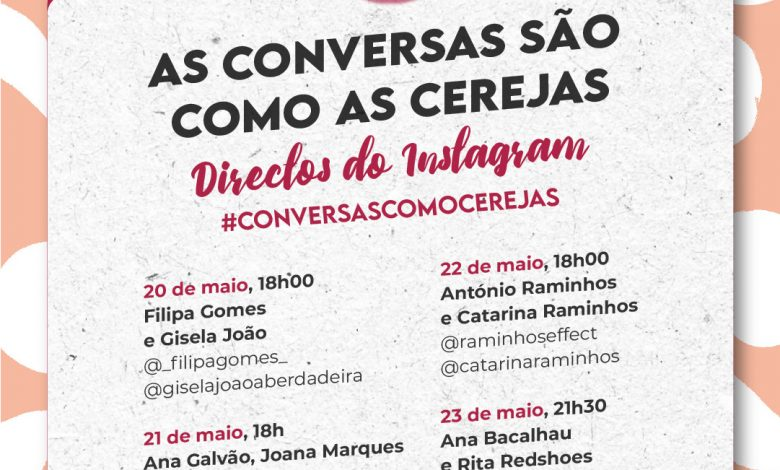 Photo of Instagram Directives with the company of Cereja do Fundão start tomorrow