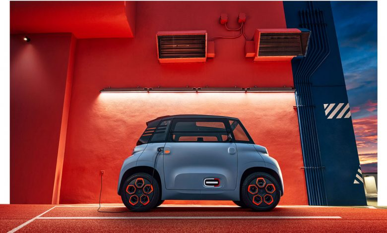 Photo of Citroen AMI 100% electric wins The Disruptor Award