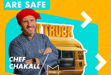 Photo of Food Trucks are Safe and Chef Chakall helps at Santarém District Hospital