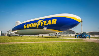 Photo of Goodyear airship flies over Europe once more