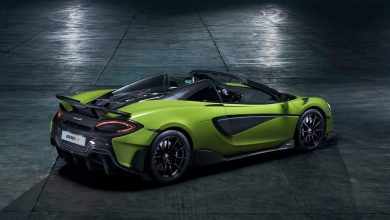 Photo of McLaren 600LT Spider is a tribute to spiders
