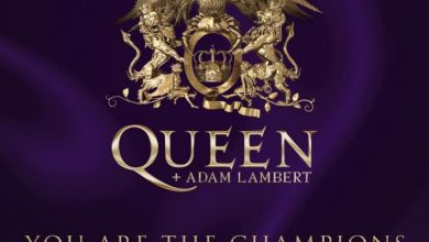 Photo of Queen and Adam Lambert with a contribution to the fight against Covid-19