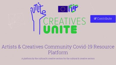 Photo of Creatives Unite platform wants to help the culture in Europe