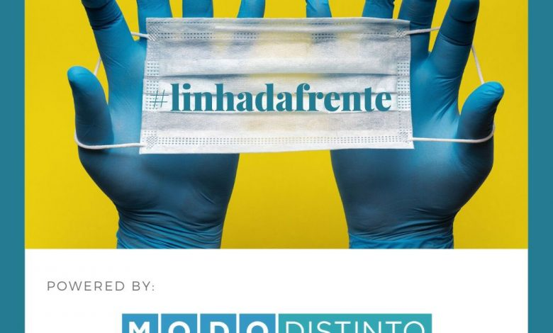 "Photo of Modo Distinto presents new website and launches ""Linha da Frente"" campaign"