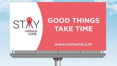 Photo of STAY HOTELS with a message of hope for the Portuguese people