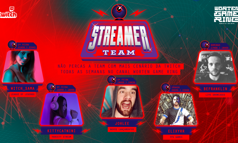 Photo of Worten Game Ring already has new Streamer Team and debuts content grid on Twitch today