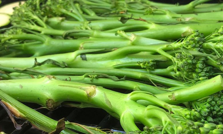 Photo of Bimi is the vegetable that will liven up summer grills