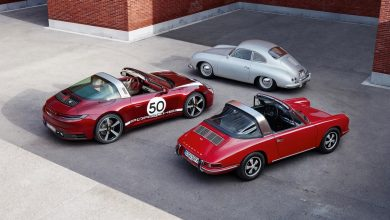 Photo of Porsche unveils the new 911 Targa 4S Heritage Design Edition