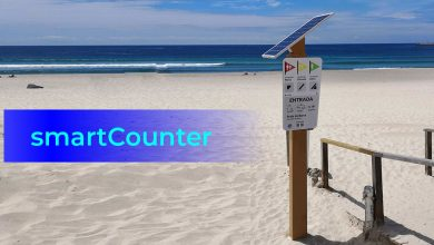 Photo of SmartCounters by Wavecom are already installed in Barra beach