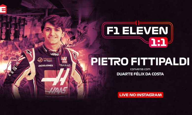 Photo of Pietro Fittipaldi in an exclusive interview at Eleven Sports