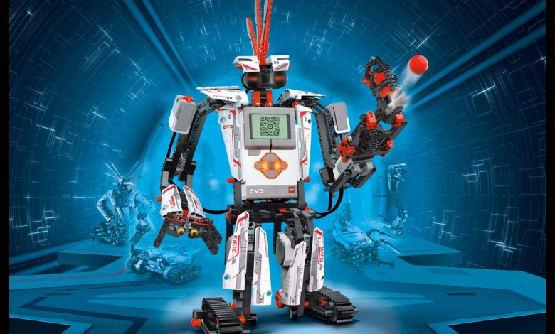 Photo of New Lego sets let kids build and code interactive robots